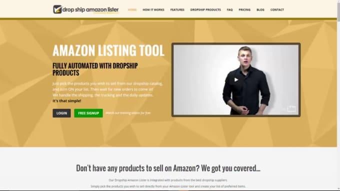 dropship amazon lister process order final render