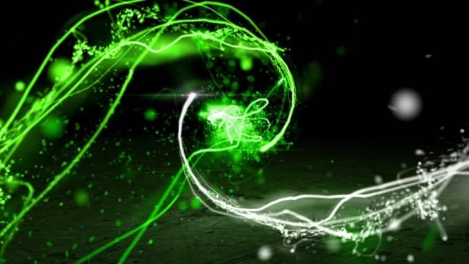 Lyfttell Particle Lights Logo