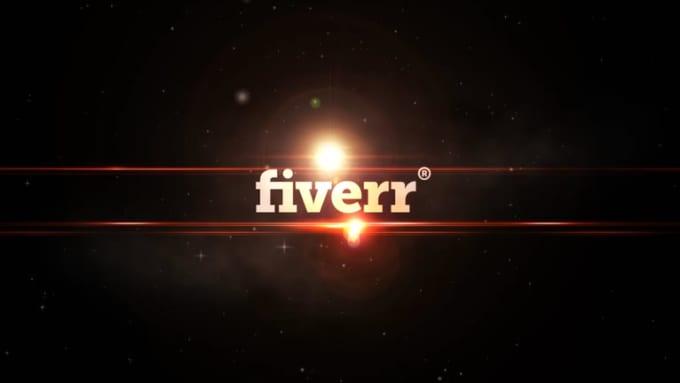 Lens Flare Fiverr video