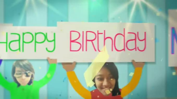 Birthday Wish Video to My Gunda in 720p HD High Quality