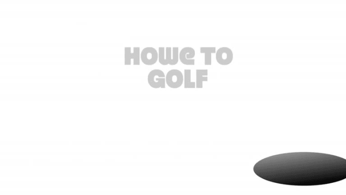 howe to golf