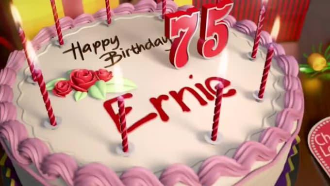 HappyBirthday! ernie