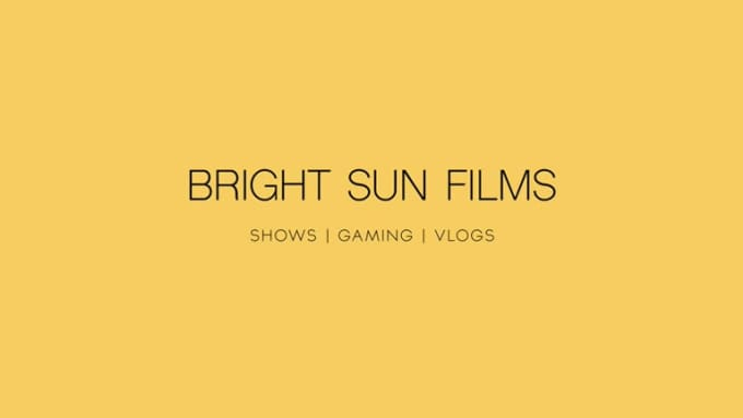 Bright Sun Films