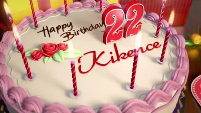 Happy Birthday Kikence
