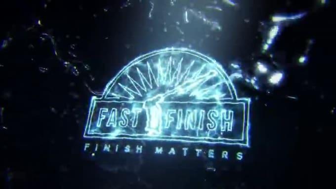Fast Finish Water Splash 3D Reveal