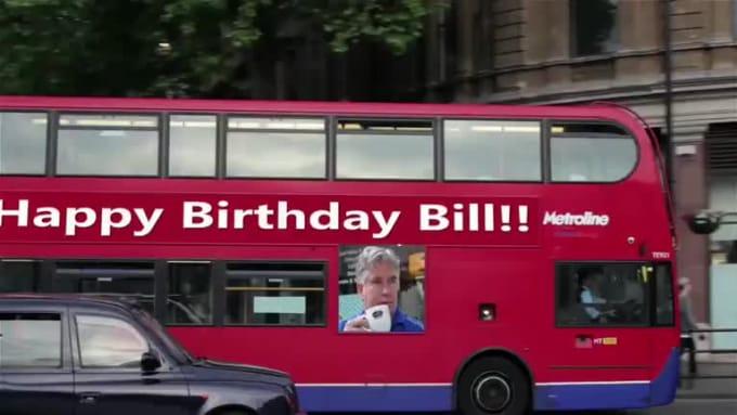 Happy Birthday Bill video2