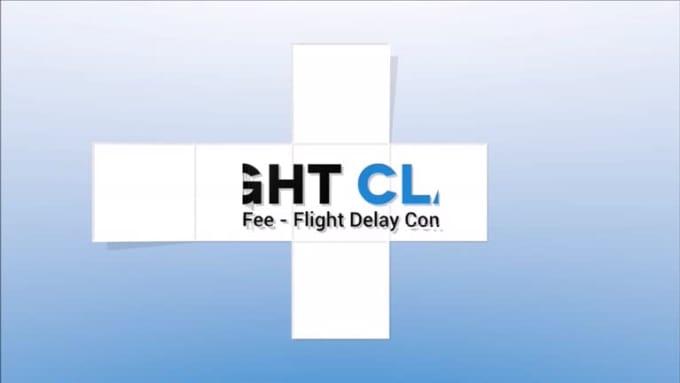 Flight Delay Compensation Logo Intro