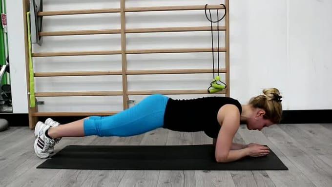 14 - Bodyweight butt ups -Fiverr