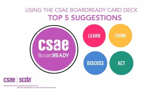 CSAE 5 ideas explainer animation