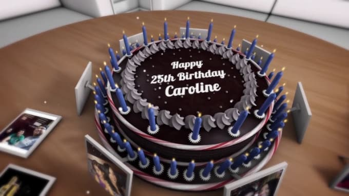 wordpress4ever_birthday video - cake