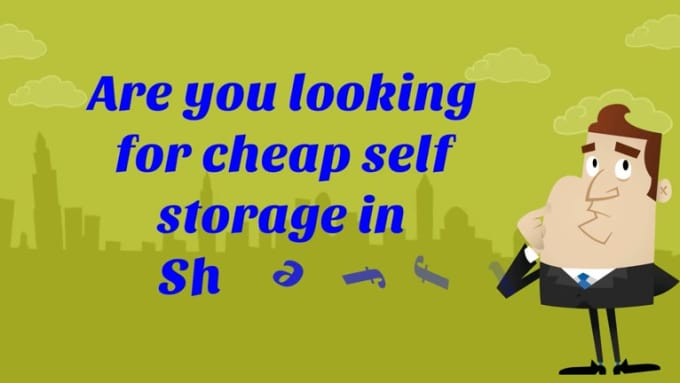 self storage in Sheffield