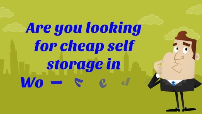 self storage in Wolverhampton