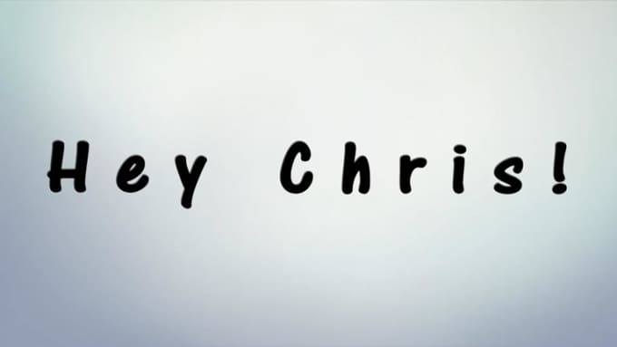 hey cris sketch 2