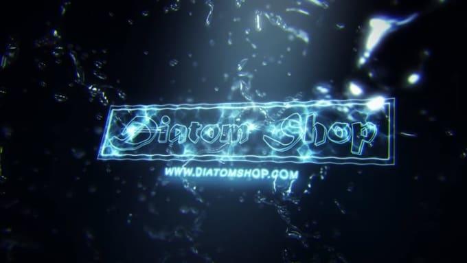 Diatom Water Splash Reveal