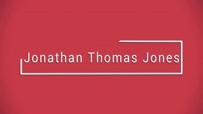 Jonathan Thomas Jones Resume