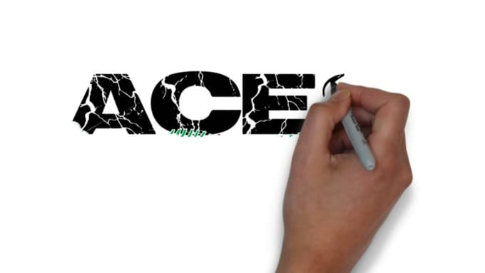Logo speed draw