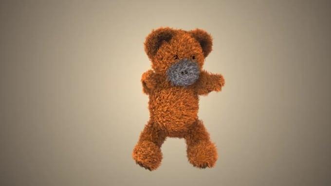 DbtvlogoColor - Dancing teddy bear intro animation SFX AE