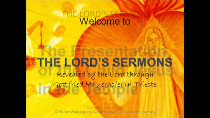 the lord of sermons