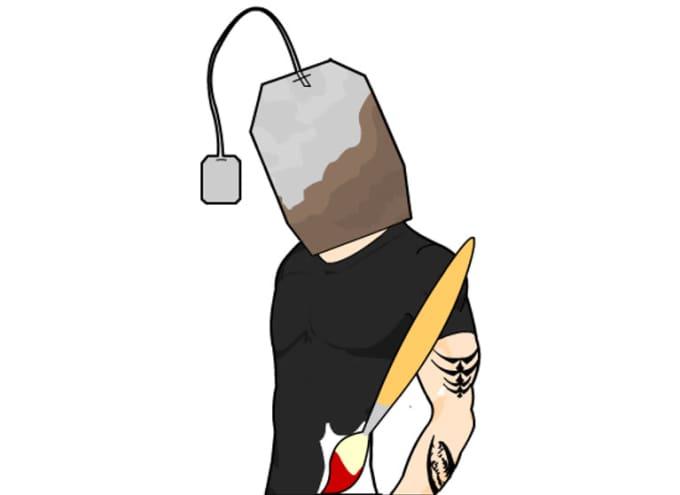 tea bag head