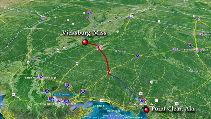 FIVERR-DS-MIKE-VICKSBURG MISSISSIPPI TO POINT CLEAR ALABAMA-12SEC-REVISED