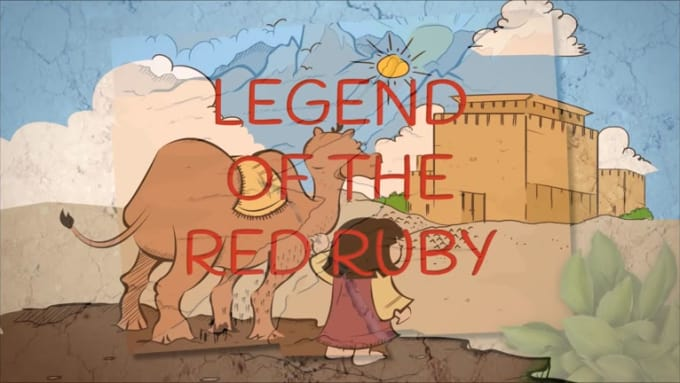 LEGEND OF THE RED RUBY book trailer 6