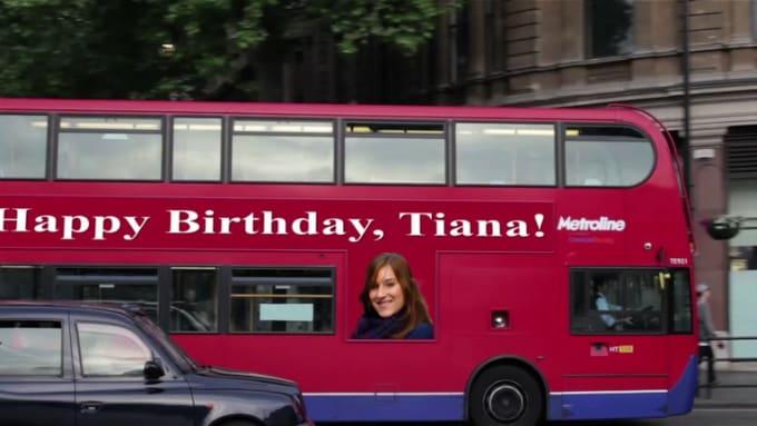 Happy Birthday, Tiana!