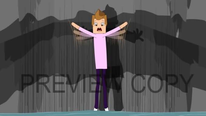 Man fall animation_correction