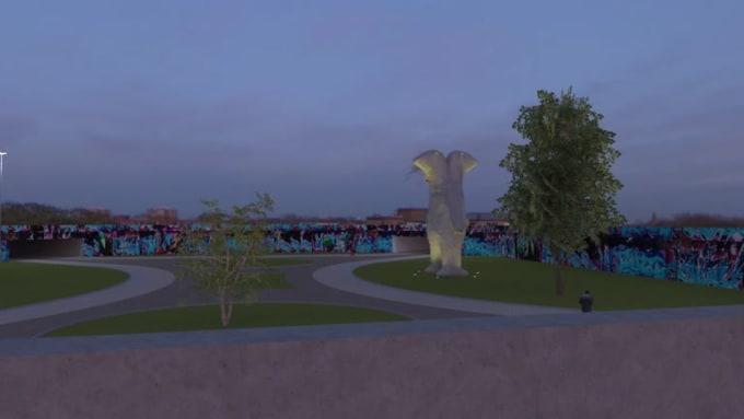 Bear animation