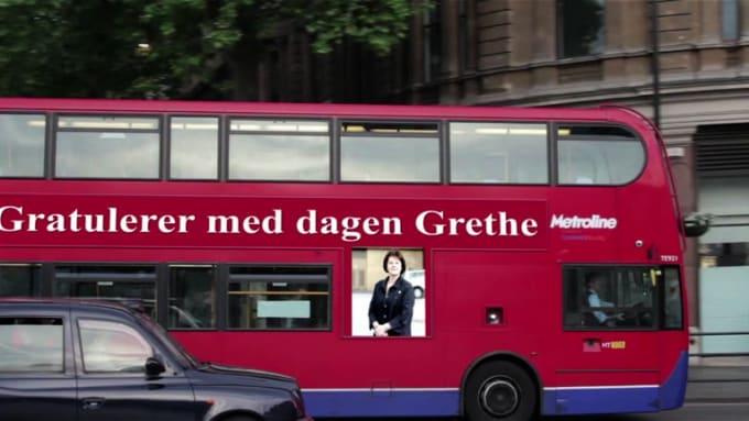 Gratulerer med dagen Grethe bus ad