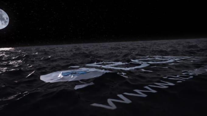 I-Cartoon_Ocean Water Animation-NIGHT SFX AEII