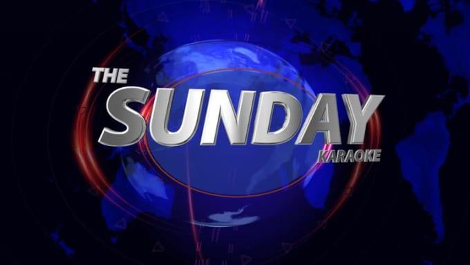 The Sunday Karaoke