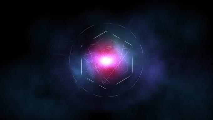 Hi Design Universe Galaxy