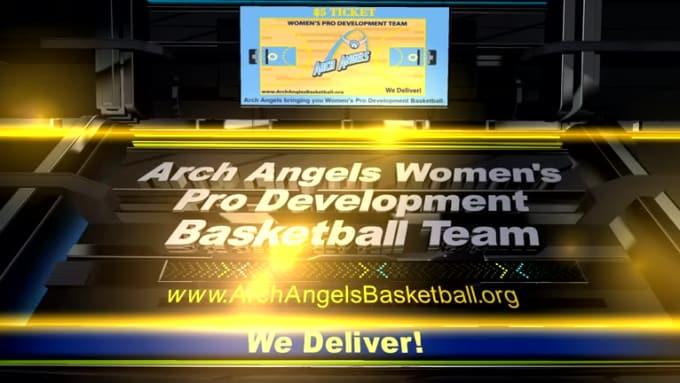 3D SPORTS PRESENTATION Video archangelsbball