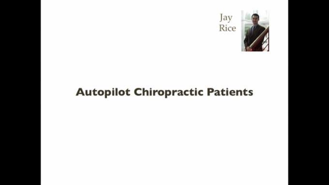 Autopilot Chiropractic Patients Recording