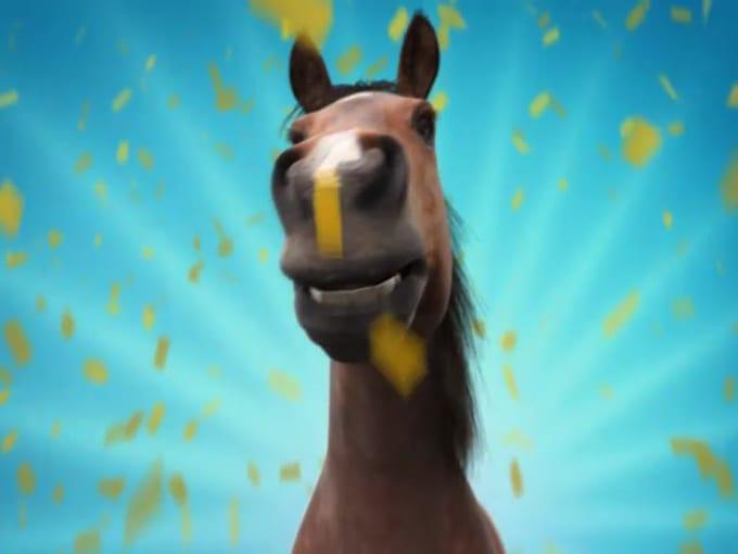 FUNNY HORSE- zootog-----