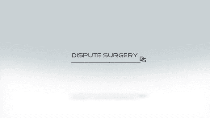 disputesurgery Intro Video
