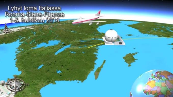 Helsinki-Rome-Florence