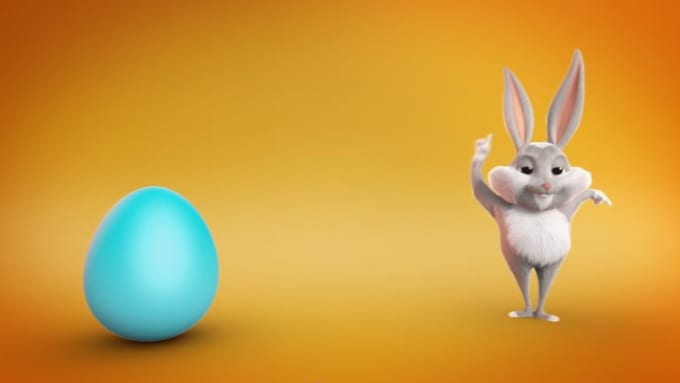 dinoflorindo_Easter_Bunny_Wishes_half HD