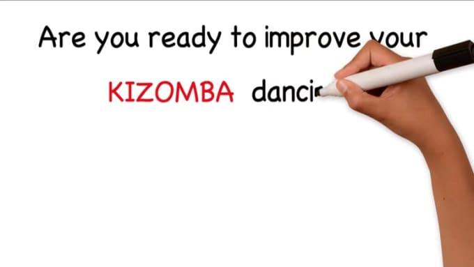 Kizomba dancing
