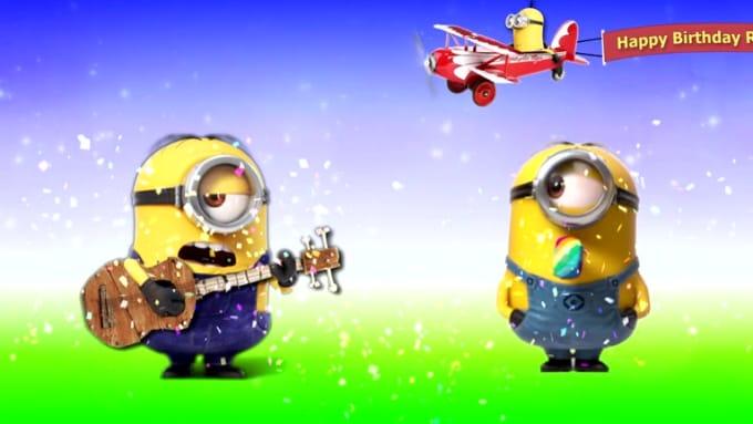 Minions Happy Birthday Richard Patrick