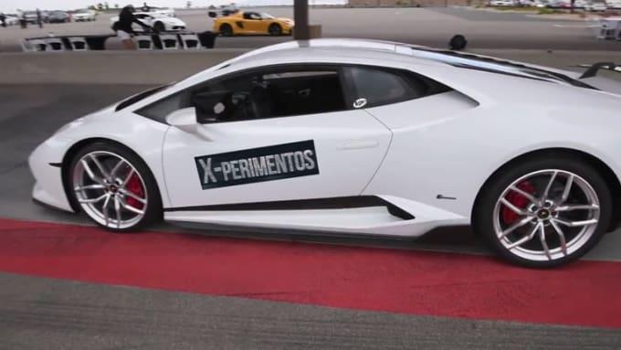 lapierense White Lamborghini done