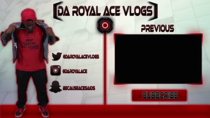 Youtube Outro Card