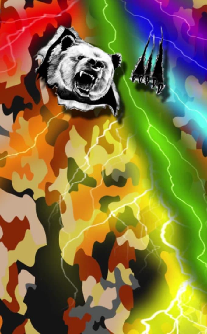 animation bear-color