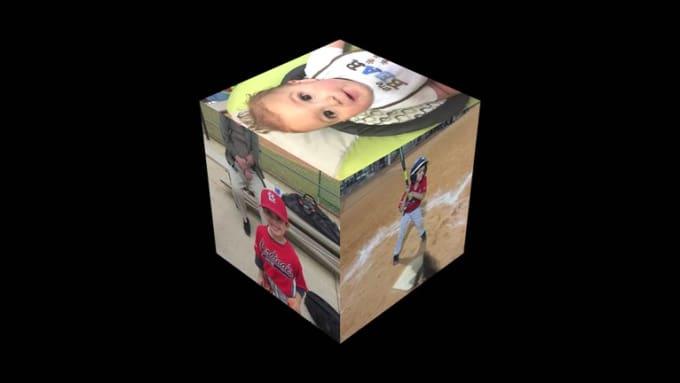 alanhalley 3D Cube 1080