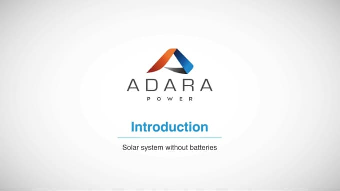 Standard Solar System Operation