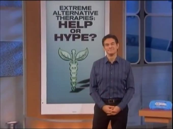Dr Oz Recomends Cryotherapy