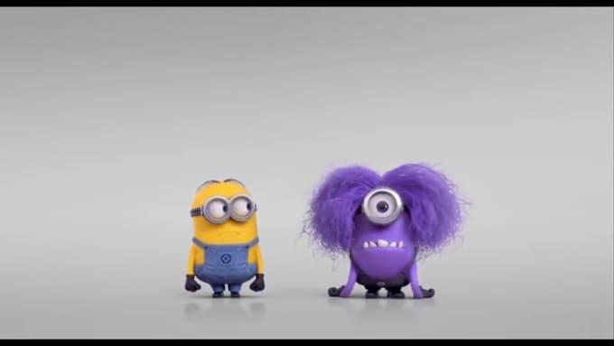 Mungry Evil Minion - Banana advert v2 720p