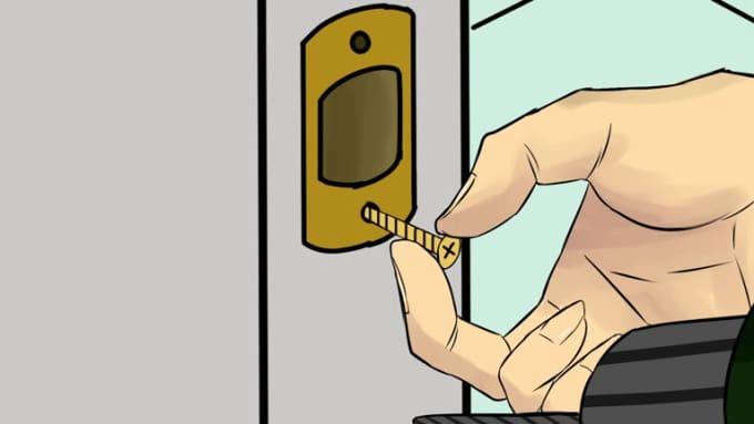 Door Animation Part 2