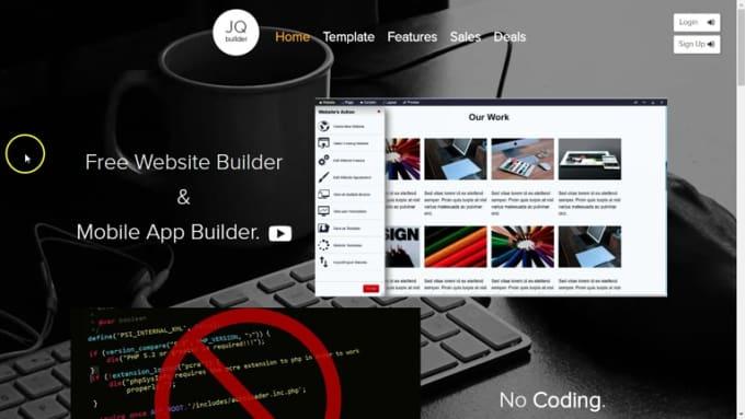 Create Website from scratch- Portalfin