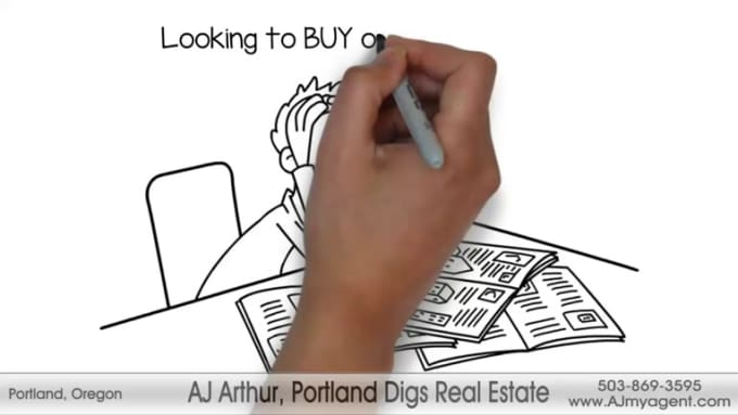 Create This Buying Real Estate Whiteboard Animation 2